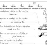 metodo de lectoescritura jose boo Letra CH