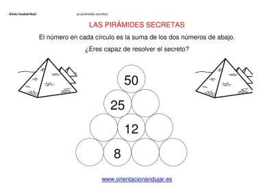 sumas primaria piramides