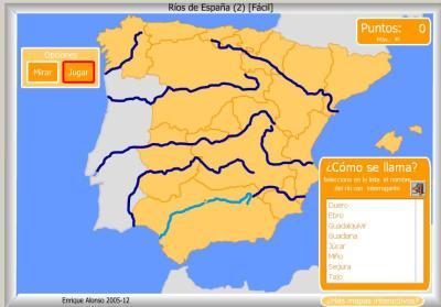 RIOS de España FACIL COMO SE LLAMA