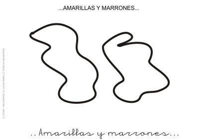 1. AMARILLAS Y MARRONES