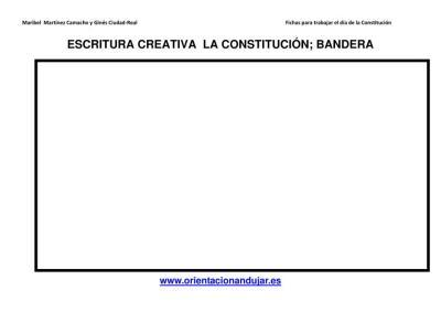 Escritura creativa la constitución Primaria y secundaria imagen 3