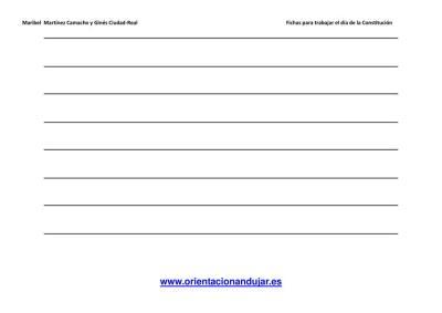 Escritura creativa la constitución Primaria y secundaria imagen 6