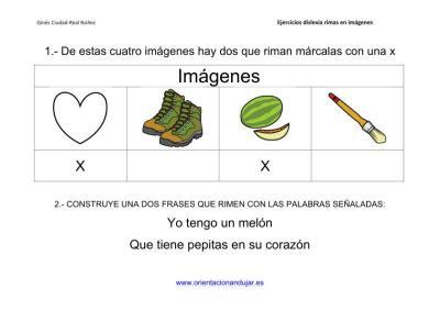 Actividades de rimas para alumnos con dislexia imagenes_1