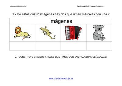 Actividades de rimas para alumnos con dislexia imagenes_7