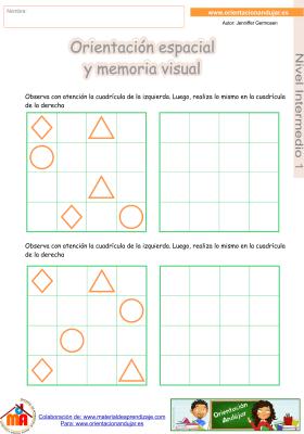 14 Intermedio 1 orientaci¢n espacial y memoria visual