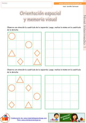 15 Intermedio 1 orientaci¢n espacial y memoria visual