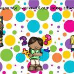 dossier de juegos matematicos infantil