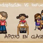 Diferencia entre Adaptación Curricular Significativa (ACI) y Refuerzo (R)