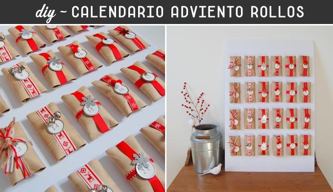 Calendarios de adviento originales para hacer con tus for Calendario de adviento casero