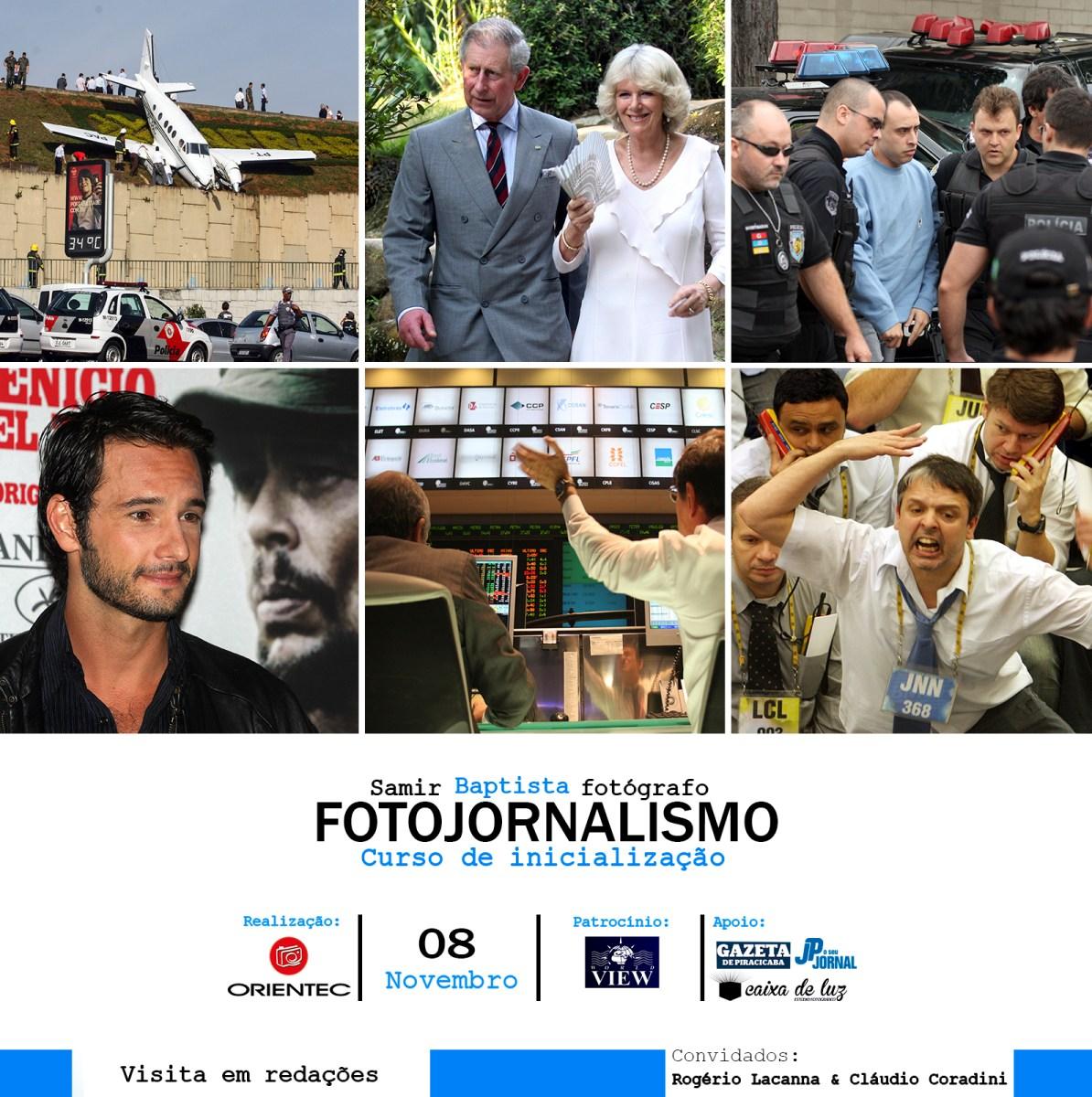 Curso de inicialização em Fotojornalismo