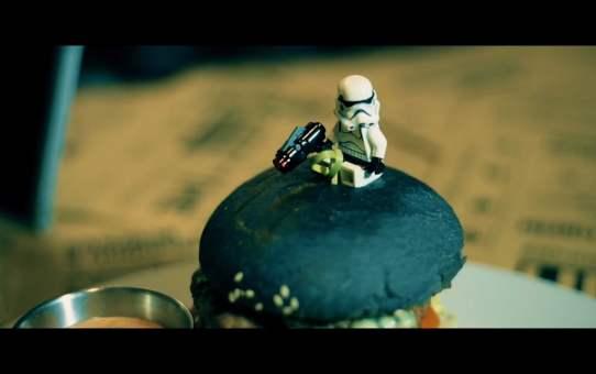 The УГОЛ. Dark Side Burger Promo. Star Wars Theme. Видео для Instagram.
