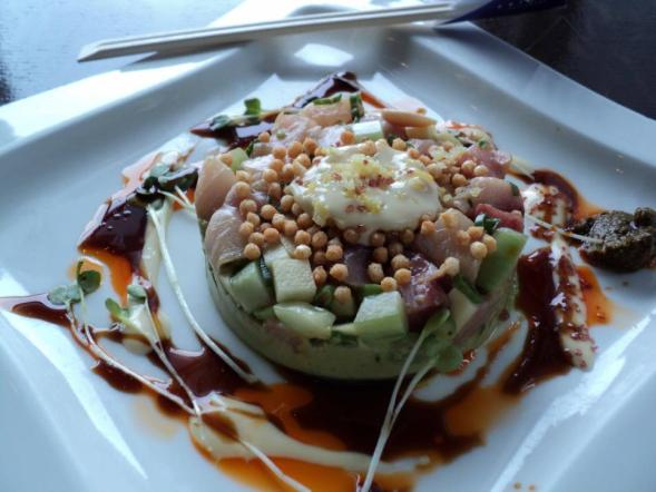 SPECIAL - Hamachi with green apples