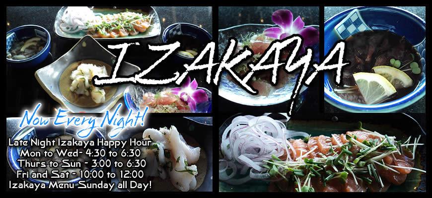 Izakaya Hours 2014