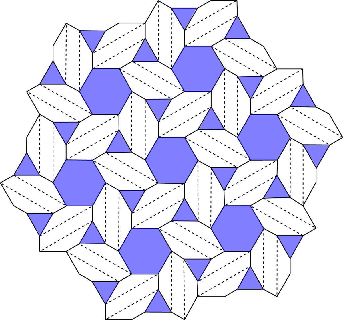 Joel Cooper's Basket Weave, Crease pattern
