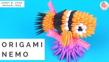 Origami Nemo Tutorial by Jenny W. Chan Origami Tree