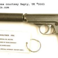 The Side Arms of James Bond, 007: From The Walther PPK to the P99