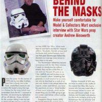 """Star Wars """"Prototype"""" Stormtrooper Helmets"""