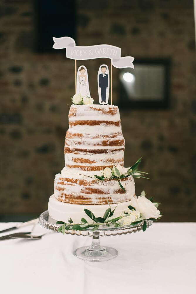 wedding cake for tuscany reception