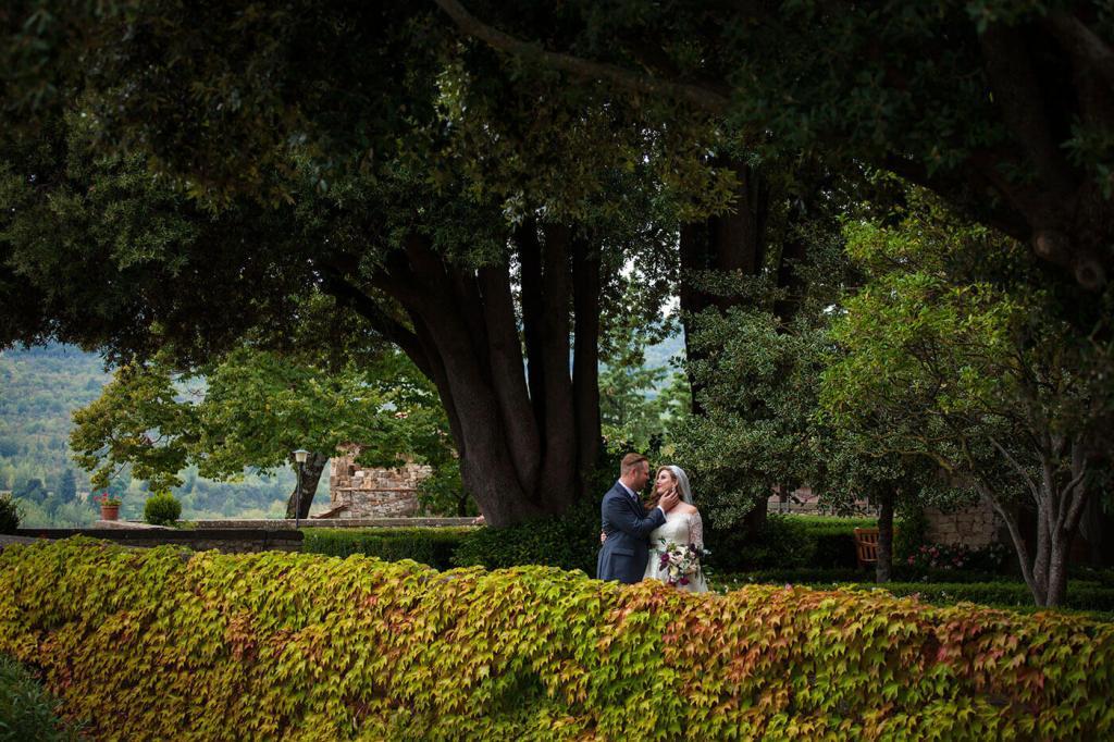 Whitney & Micheal explore Castello Vicchiomaggio