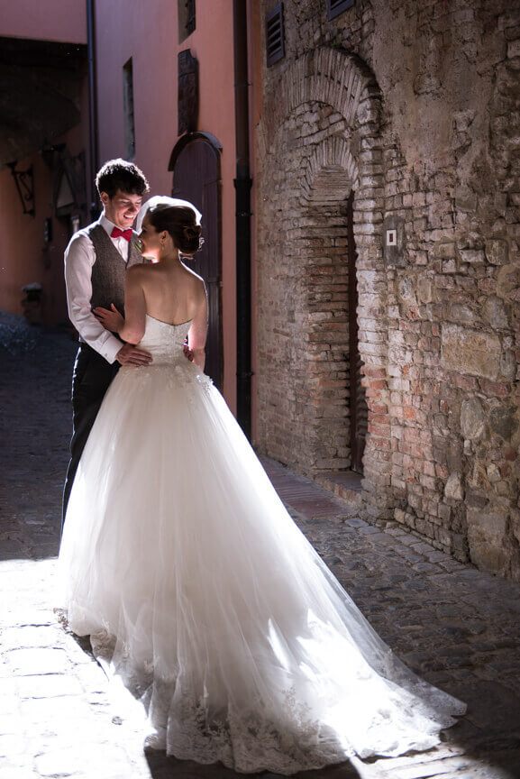 Claire & Mark wedding in Chiantishire
