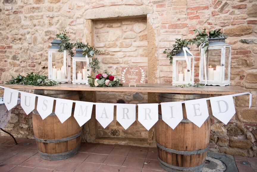 exclusive wedding venue in Tuscany