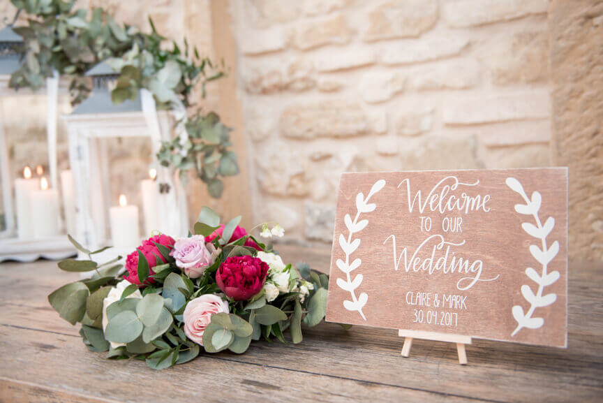 exclusive wedding reception in Tuscany
