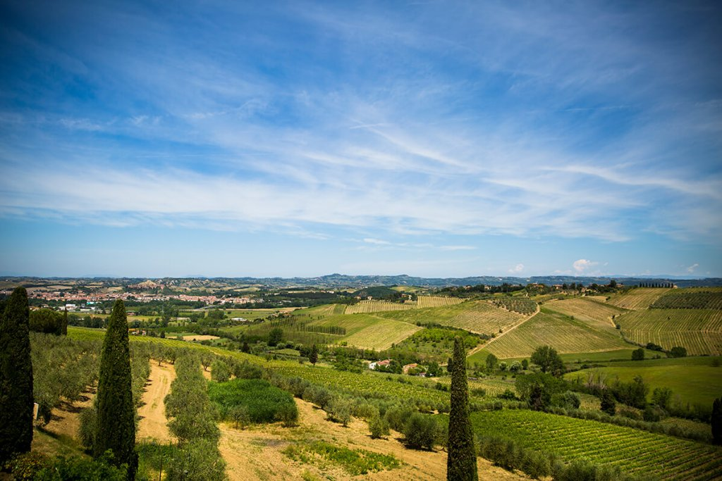 Wonderful tuscan panorama