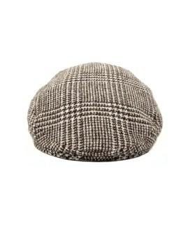 Orkney Tweed Flat Cap Front