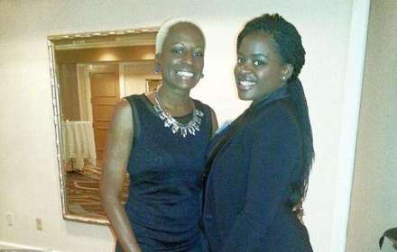 Arvonni Debose, the daughter of Orlando Commissioner Regina Hill is shown here with her mother.  The 24-year-old died Friday in Tallahassee under unclear circumstances.  An autopsy has been scheduled.