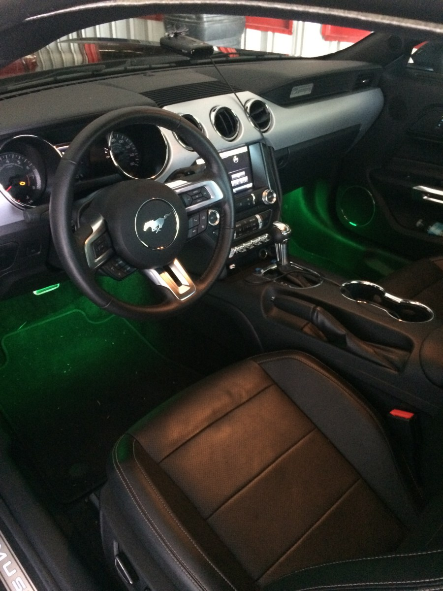 2015 mustang app control led underglow orlando custom audio. Black Bedroom Furniture Sets. Home Design Ideas