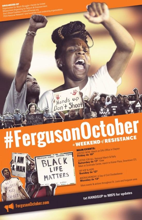 Ferguson_October_Poster