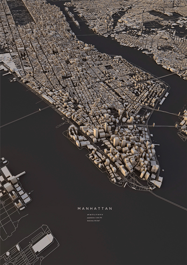 Extraordinary Prints of City Layouts That Will Take you to a Different Perspective of Art