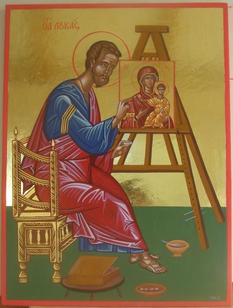 Il Santo Evangelista Luca, primo iconografo.