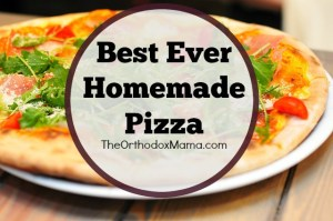 Best Ever Homemade Pizza Final