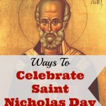 Ways to Celebrate St. Nicholas Day