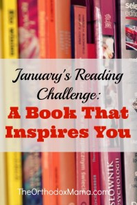 January's Reading Challenge: A Book That Inspires You