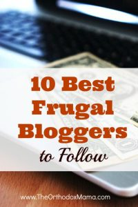 10 Best Frugal Bloggers to Follow