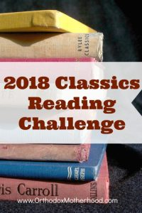 The 2018 Classics Reading Challenge