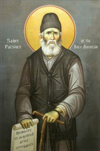 St Paisios of the Holy Mountain (the Athonite)