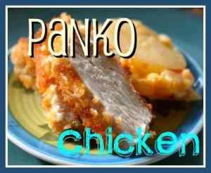 Panko Breaded Chicken from OrWhateverYouDO.com