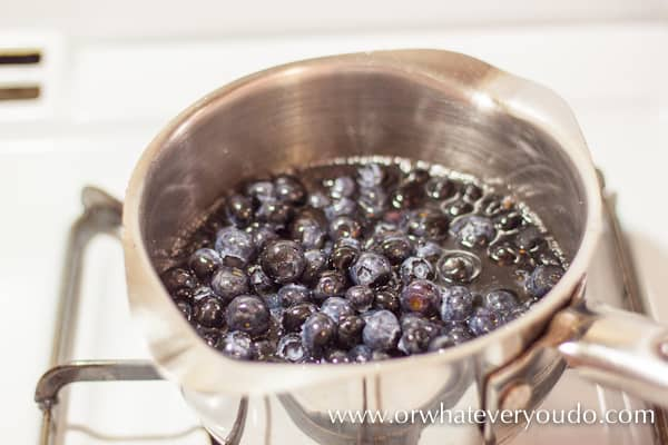 #Blueberry #Syrup from OrWhateverYouDo.com