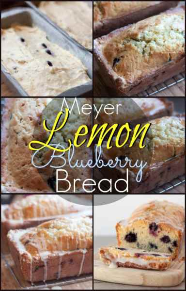 Meyer Lemon Blueberry Bread I www.orwhateveryoudo.com I #breakfast #brunch #recipe