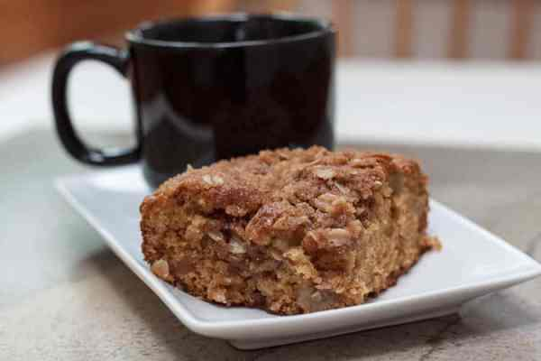 Apple Cinnamon Streusel Coffee Cake Plain-9