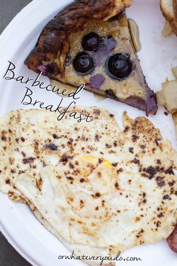 Barbecued Breakfast