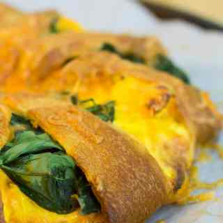Breakfast Crescent Ring with Sausage & Egg