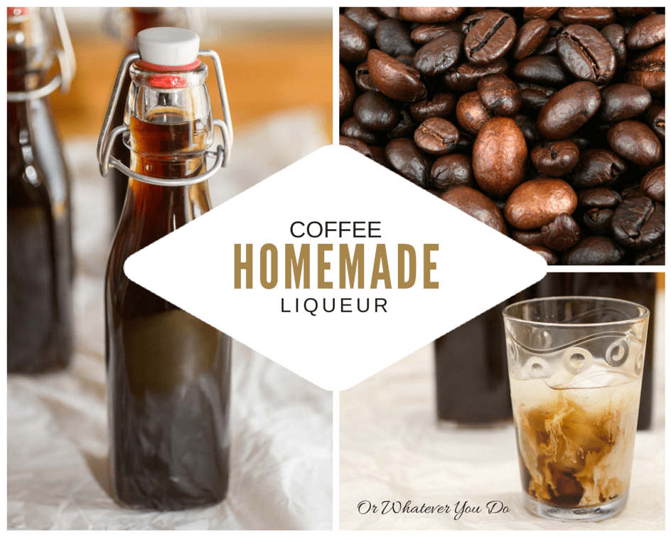 How to make Homemade Coffee Liqueur {Kahlua} {Recipe} {Cocktail}