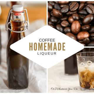 How to make Homemade Coffee Liqueur {Kahlua} {Recipe} {Cocktail}