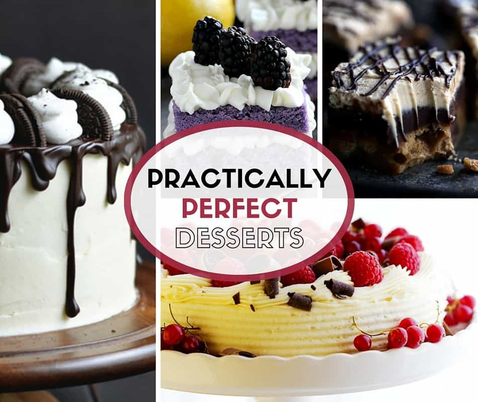 All the desserts. Well – most of them. Enough to keep you busy for a long while anyway.