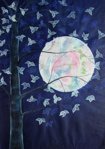 Full moon by Paritosh