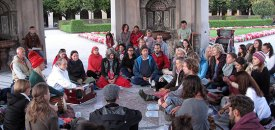 Public Meditation in Munich